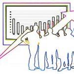 集団分析 データと人のイメージ図