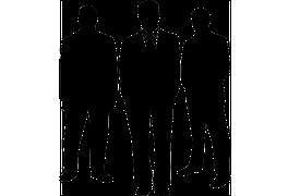 事業者からの表明 リーダーのイメージイラスト