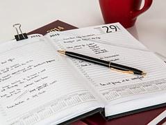 開始の準備 システム手帳で計画