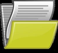 書類の記録 保存イメージ図